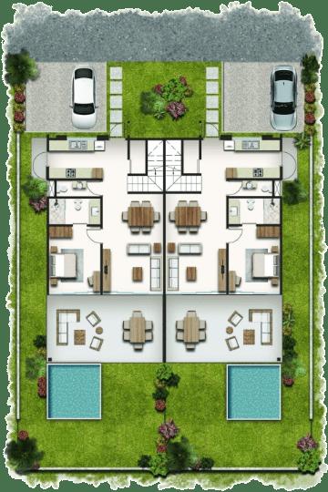 Typical floor Plans -Ground floor