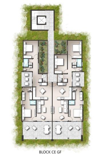Apartments - Block C/E Ground Floor & First Floor