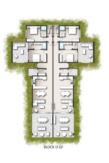 Apartments - Block D Ground Floor & First Floor