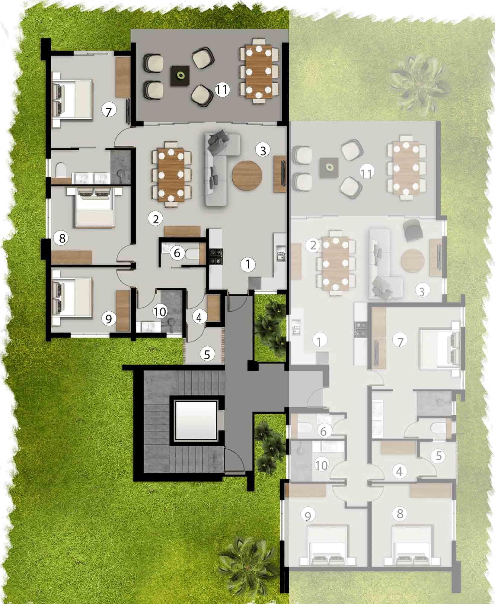 Apartments Ground Floor - AG1/BG2/CG1