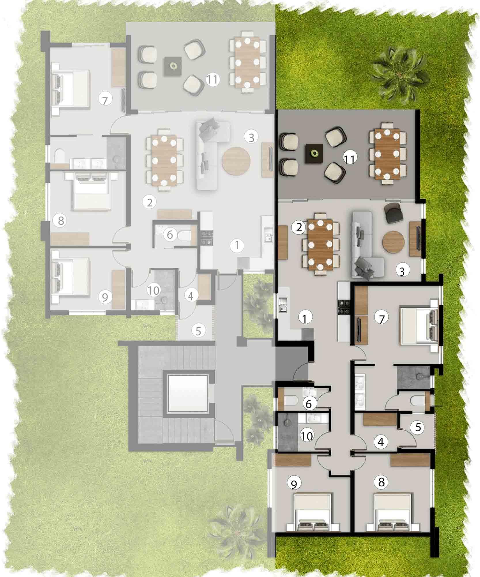 Apartments Ground Floor - AG2/BG1/CG2